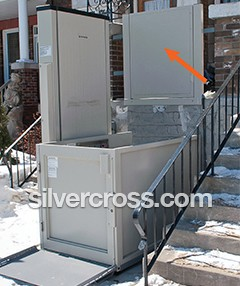 Multilift Top Landing Gate Savaria | Silvercross