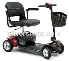 Pride GoGo Elite Plus 4 Wheel   Mobility Scooters   Silver Cross