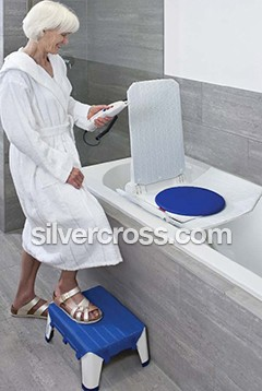 Invacare Aquatex | Bath lift | Silver Cross