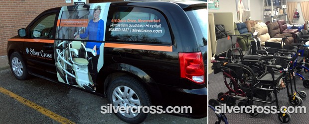 Silver Cross Newmarket | Mobility Equipment Store