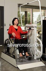 Omega Inclined Platform Wheelchair Lift Savaria   Silver Cross