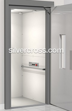 V1504 Wheelchair Lift Hoistway Savaria | Silver Cross