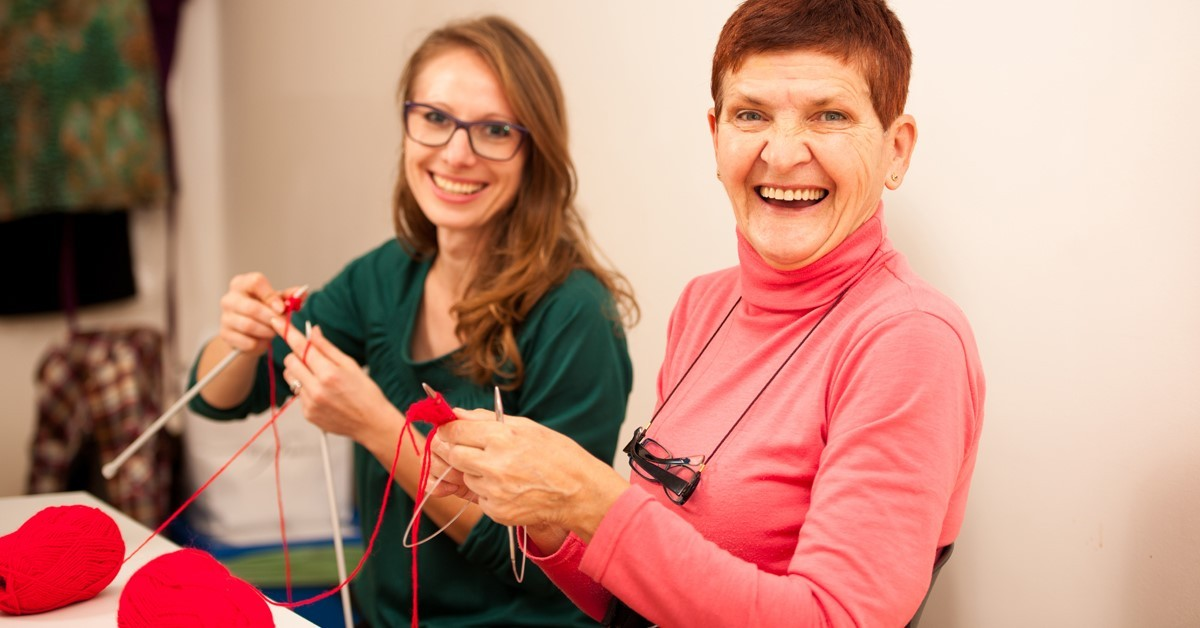 See the lights   7 Holiday Activities to Enjoy with Grandma or Gramps   Learn to Knit